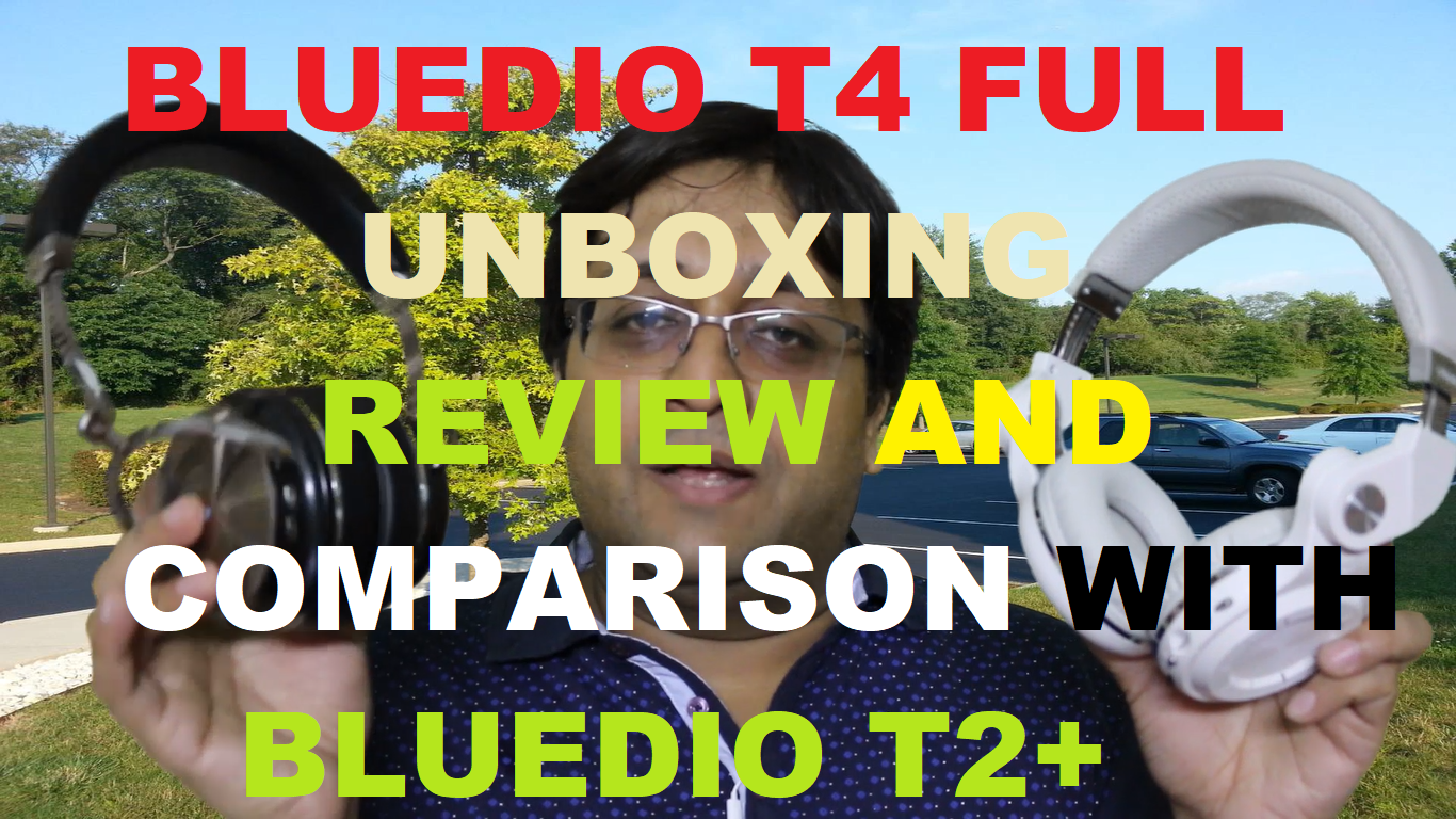 Bluedio T4 Review. Bluedio T4 vs Bluedio T2 plus
